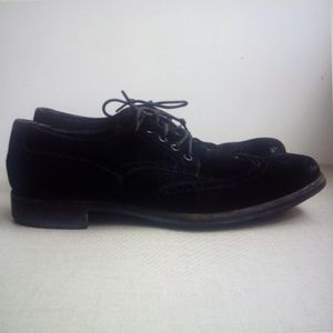 Prada Men US 9.5 Black Leather Lace-Up Dress Shoes